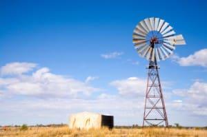 Windmill in Outback Australia