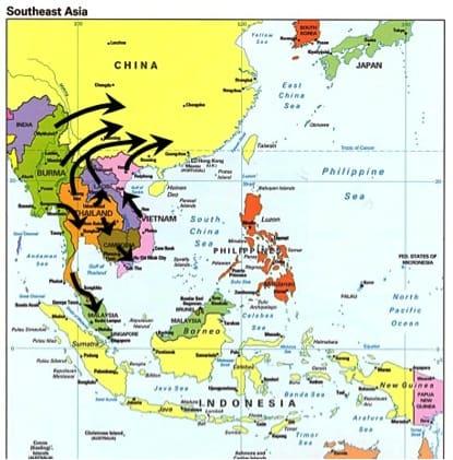 South East Asia, 2010 onward