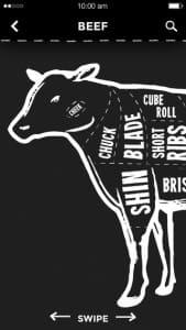 MLA Meat Cuts app