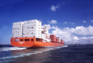 Hamburg Sud's Cap Beatrice shipping export trade