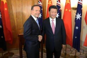 Abbott Xi China FTA