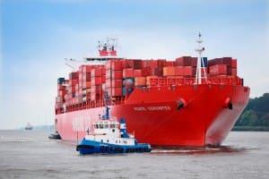 Hamburg Sud shipping trade