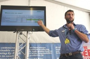 MLA analyst Ben Thomas presenting at Beef 2015