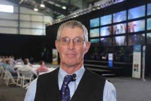 Dr Tom Noffsinger at the Beef 2015 Creating Connections launch.