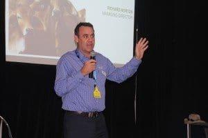 MLA managing director Richard Norton addresses the MLA producer forum.