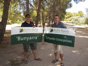 John Gladigau and Robin Schaefer. Picture: Bulla Burra.