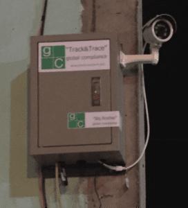 CCTV camera box