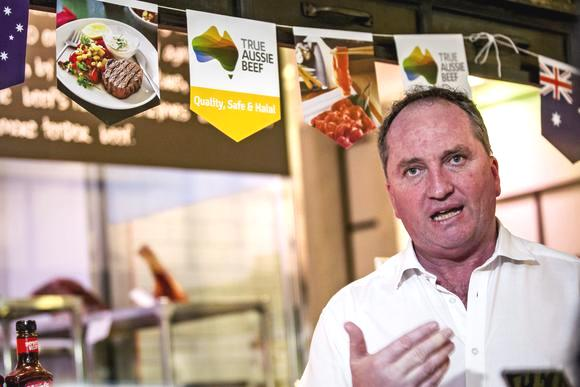 Barnaby Japan trade True Aussie