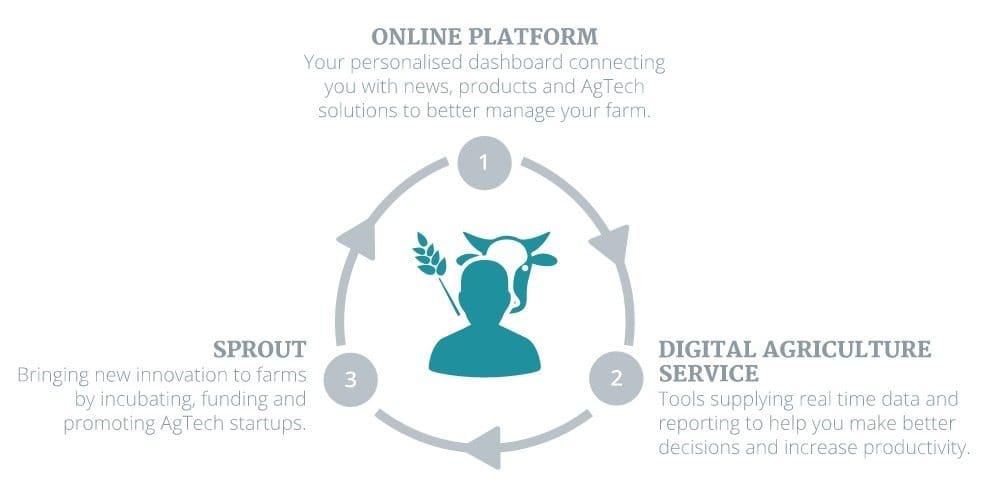 Three measures aim to plug farming into digital age - Sheep