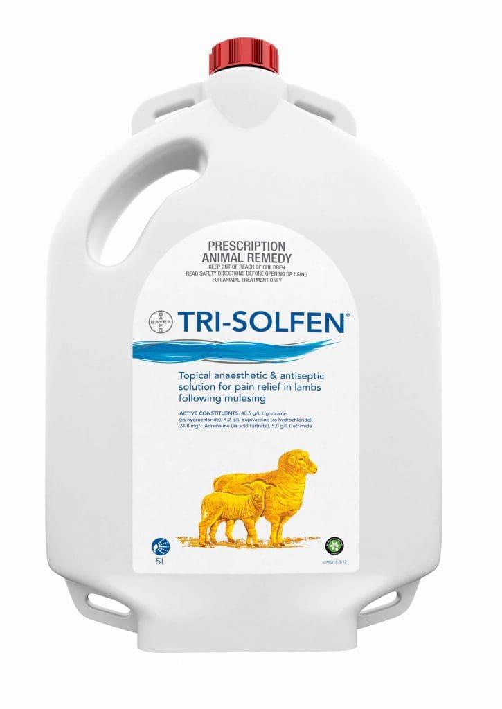global interest in australian pain relief spray for livestock