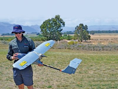 The use of drones in livestock prodcution is just one example of innovations to improve on-farm performance eligible for support under the Innovation Fast-Track program.