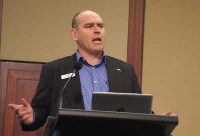 MLA US region manager Rob Williams