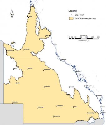 GABORA water plan area