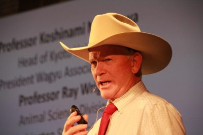Wally Rea speaks to Wagyu conference